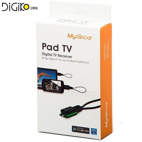 گیرنده دیجیتال تلویزیون برای موبایل و تبلت بدون نیاز به اینترنت(PAD TV MY GICA PT115)
