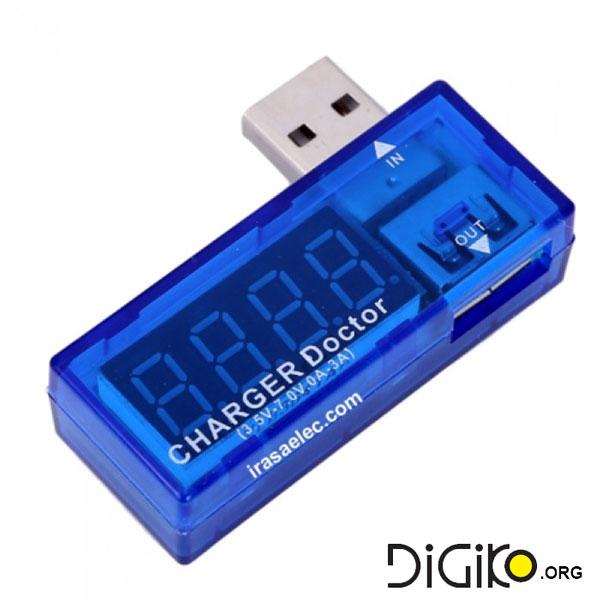 نمایشگر ولتاژ و جریان USB(مانیتورینگ USB)