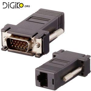 افزایش طول (اکستندر) کابل VGA توسط کابل شبکه