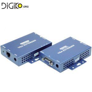 دستگاه افزایش طول کابل VGA توسط کابل شبکه تا 100 متر
