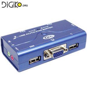 KVM سوئیچ 2 پورت USB اتوماتیک (مارک KNET)
