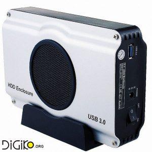 باکس هارد 3.5 اینچ USB3.0 فن دار ساتا 3