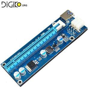 تبدیل PCIE 1X به PCIE 16X با رابط کابل USB3.0