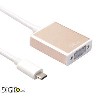 تبدیل TYPE-C USB 3.1 به VGA با کیفیت 1080P HD (مارک فرانت)