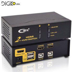 KVM سوئیچ 2 پورت HDMI+USB (مارک CKL)