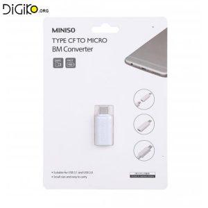 تبدیل TYPE-C ماده به Micro USB نری
