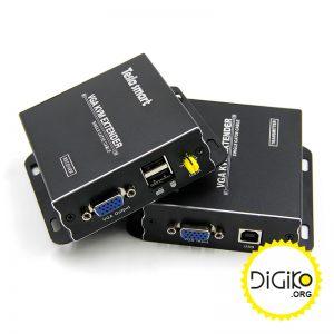 دستگاه افزایش طول کابل VGA و USB تا 300 متر
