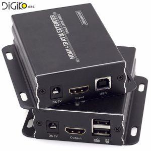 دستگاه افزایش طول کابل HDMI و USB تا 120 متر