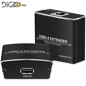 دستگاه افزایش طول کابل USB2.0 تا 100 متر مارک لایمستون