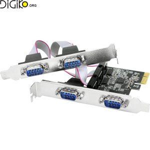 کارت تبدیل PCIE به 4 پورت سریال